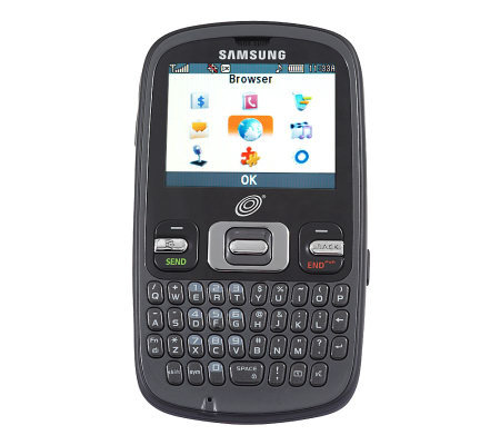 NET 10 Prepaid Samsung Cell Phone w/ QWERTY Keypad and 300 Minutes
