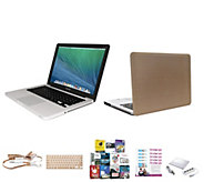 Apple MacBook Pro 13 Bundle w/ Accessories Clip Case & Addt Software - E230457