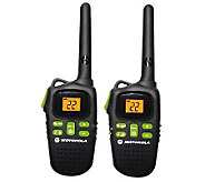 Motorola Set of 2 Talkabout MD200R Rechargeable2-Way Radio - E262357