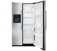 Frigidaire 26 Cubic Foot Side-by-Side Stainless Refrigerator - E279557