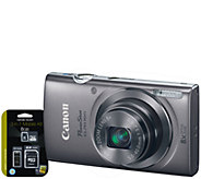 Canon PowerShot ELPH 160 20MP Digital Camera & 3-in-1 Kit - E282157