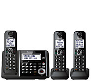 Panasonic Cordless Answering System with ThreeHandsets - E283357