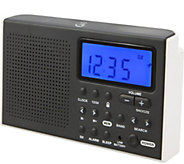 GPX Shortwave AM/FM Radio with LCD Display - E288457