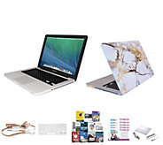 Apple Macbook Pro 13 Core i5 w/ Fitted Clip Case, Earbuds & Software - E230358