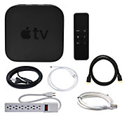 Apple TV Network Player 64GB with Remote, HDMI Cable, & Wi-Fi - E286558