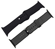 Digital Gadgets 2-Pack Replacement Bands for Apple Watch 38mm - E292858