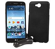 Tracfone LG Fiesta 2 Smartphone w/ Case & 1200 Min/ Text/ Data - E232059