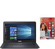 ASUS 14 Laptop - Celeron, 4GB RAM, 32GB eMMC &2-Yr LMW - E291359