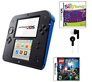 Nintendo 2DS with Lego Harry Potter, Silly Bandz game & More - E275860