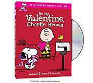 Be My Valentine, Charlie Brown Deluxe Edition DVD - E285260