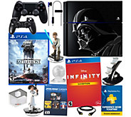 PS4 Star Wars Console Bundle with Battlefront &Accessories - E287060