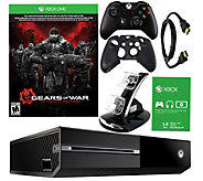Xbox One 500GB Gears of War Bundle with Accessories - E287460