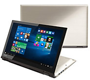 Toshiba 15.6 2-in-1 Laptop - i5, 6GB RAM, 1TBHDD w/ Earbuds - E287560
