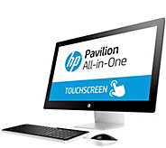 HP Pavilion 27 Touch All-in-One - i5, 8GB, 1TBHDD & Software - E287660