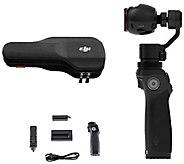 Osmo 4K 12.4MP Camera & 3-Axis Gimbal w/ ExtraBattery & Accs. - E289560