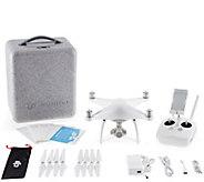 DJI Phantom 4 Bundle with Extra Battery and Hardshell Backpac - E290360