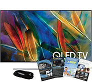 Samsung 65 QLED Smart Q4K HDR Elite TV w/ HDMIand App Pack - E291260