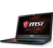 MSI 15.6 Gaming Laptop - i7, 16GB RAM 256GB SSD, 1TB RAM - E291660