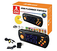 Atari Flashback Portable Deluxe Handheld with 70 Games and Accessories - E231061