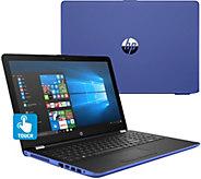 HP 15 Touch Laptop Intel i3 8GB RAM 2TB HDD w/ Backlit Keys & Software - E231361
