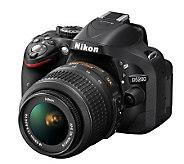 Nikon D5200 DSLR 18-55mm Lens Kit with Camera Accessory Kit - E268161