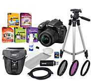 Nikon D3300 Digital SLR Camera with 18-55mm Len s, Accessories - E280661