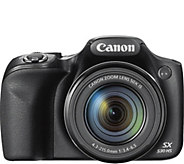 Canon PowerShot SX530 16MP Digital Camera w/ Wi-Fi & HD Video - E281861