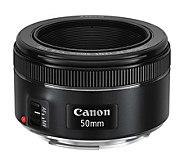 Canon EF 50mm f/1.8 STM Lens - E285561