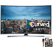 Samsung 50 Class Curved 4K Smart Ultra HDTV with Apps & HDMI - E288361