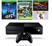 Xbox One 1TB Bundle - Minecraft, Gears of War aad 2 More Games - E288461