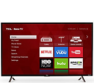 TCL 43 LED 4K UHD 120HZ Roku Smart TV - E291461