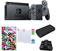 Nintendo Switch Gray with Splatoon 2 and Accessories - E294061