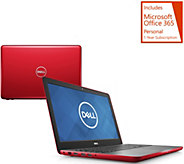 Dell 15 Laptop AMD-FX QuadCore 8GB RAM 1TB HDD Backlit Keys, w/ MS Office - E231462