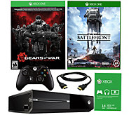 Xbox One 500GB Gears of War Bundle with Star Wars Battlefront - E287462