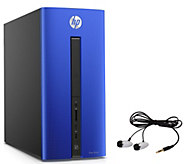 HP Pavilion Desktop - Core i3, 8GB RAM, 1TB HDDwith Earbuds - E287662