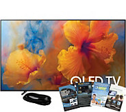 Samsung 65 QLED Smart Hub Q4K HDR Elite TV w/HDMI & App Pack - E291262