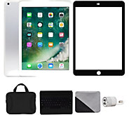 Apple iPad 9.7 128GB Wi-Fi & 4G with Accessories - Silver - E292862