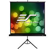 Elite Screens 71 Portable Tripod B Series Projection Screen - E293562