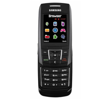 Samsung T301 TracFone with 1,000 Minutes Car Charger and More