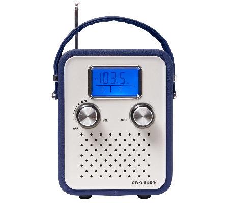 crosley songbird retro am fm alarm clock radio e226863. Black Bedroom Furniture Sets. Home Design Ideas