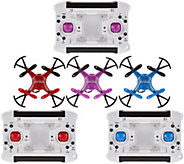 Zero Gravity Explorer Drone 3 Pack, Stunts, 480p Camera, Six-Axis Gyro - E229363
