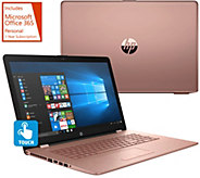 As Is HP 17 Touch Laptop Intel 8GB RAM 2TB HD Backlit Keyboard - E231663