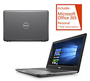 Dell 15 Laptop AMD 7th Gen A9 8GB RAM 1TB HDD w/ Tech Support & Office Option - E231863
