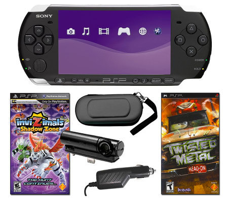 Sony PSP-3000 Bundle with Games, Camera, and More