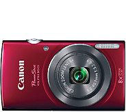Canon PowerShot ELPH 160 20 Megapixel 8X Zoom Digital Camera - E281863