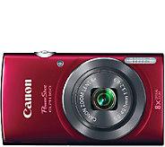 Canon PowerShot ELPH 160 20 Megapixel 8X Zoom Digital Camera - E281863
