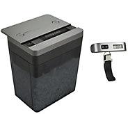 Royal Desktop Paper Shredder w/ Digital Compact Luggage Scale - E286063