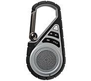 ION Clipster Active Outdoor Bluetooth Speaker with Bracket - E286263