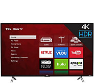TCL 43 Smart 4K 120Hz HDR Ultra HDTV with Roku - E291463