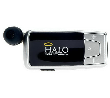 HALO Bluetooth Retractable Cell Phone Earpiecew/Never Forget Alarm